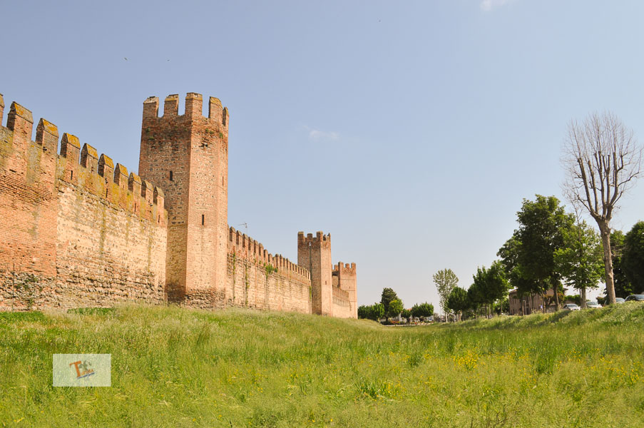 Montagnana, le mura - Turista a due passi da casa