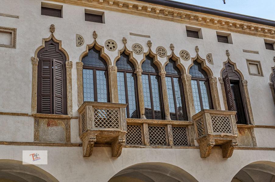 Montagnana, palazzo Magnavin-Foratti- Turista a due passi da casa