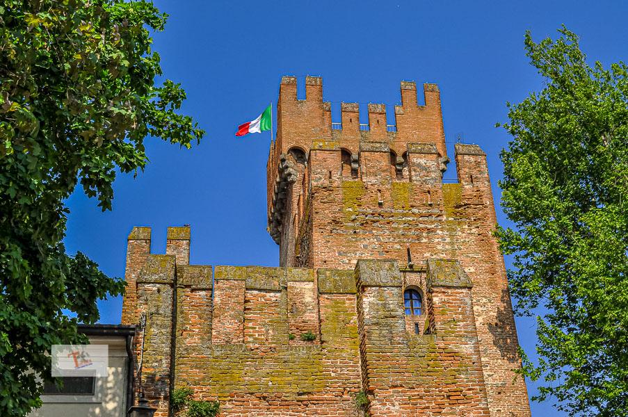 Montagnana, Rocca degli Alberi- Turista a due passi da casa