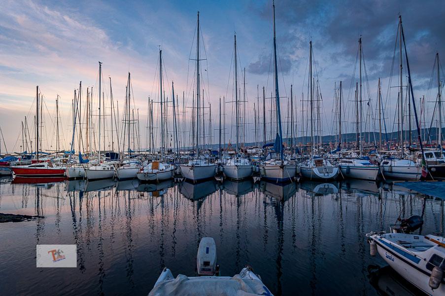 Muggia, vista sul porto - Turista a due passi da casa