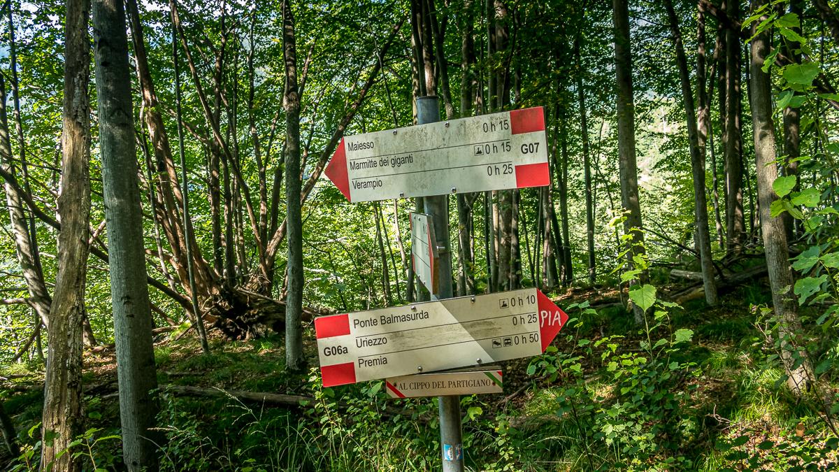 Orrido di Uriezzo, indicazioni percorso - Turista a due passi da casa