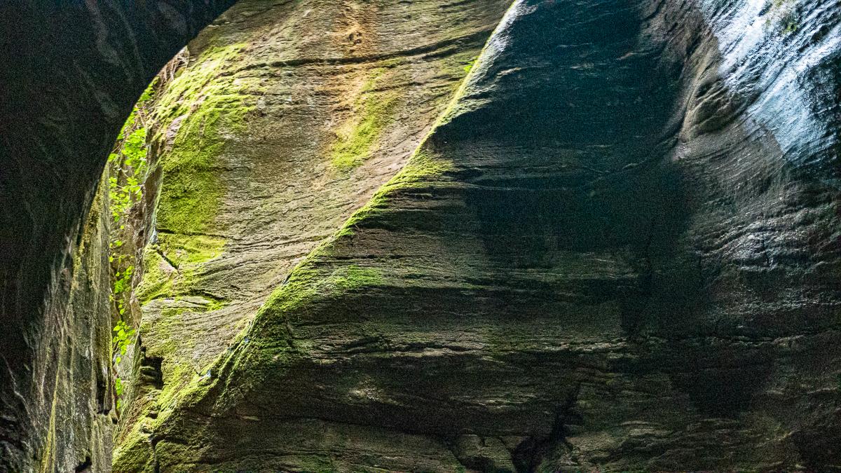 Orrido di Uriezzo, roccia nell'Orrido Sud - Turista a due passi da casa