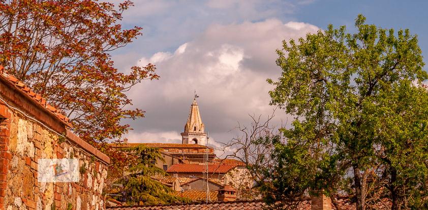 Pienza, panorama sul centro storico - Turista a due passi da casa