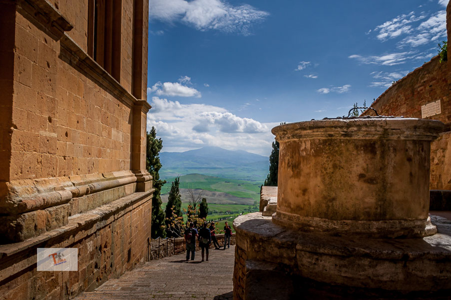 Pienza, scorcio panoramico - Turista a due passi da casa