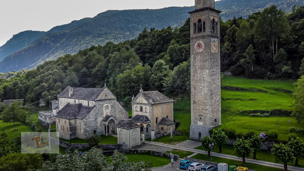 Crodo, frazione Cravegna, chiesa San Giulio - Turista a due passi da casa