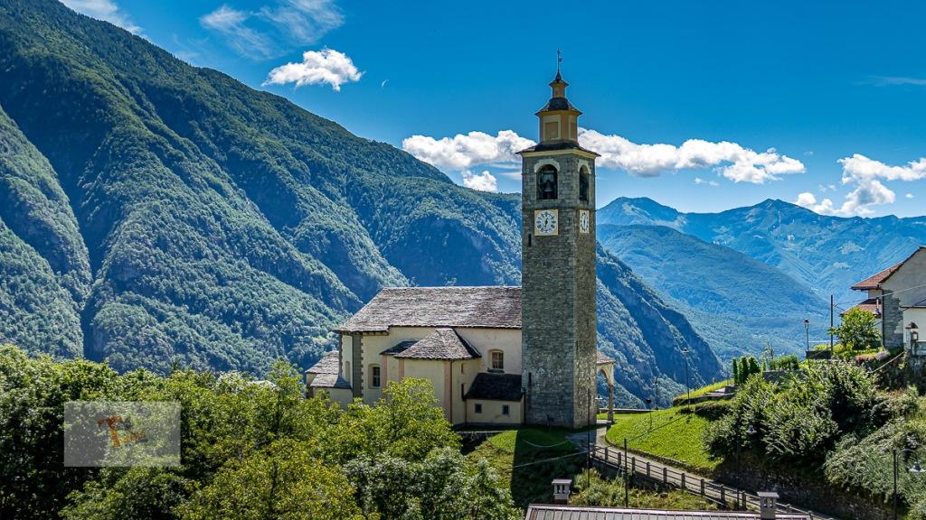Crodo, frazione Mozzio, chiesa di San Giacomo - Turista a due passi da casa