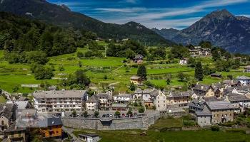 Crodo, frazione Mozzio, panorama - Turista a due passi da casa