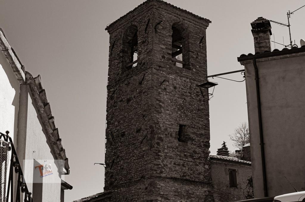 Montebello, campanile chiesa di San Pietro Apostolo - Turista a due passi da casa