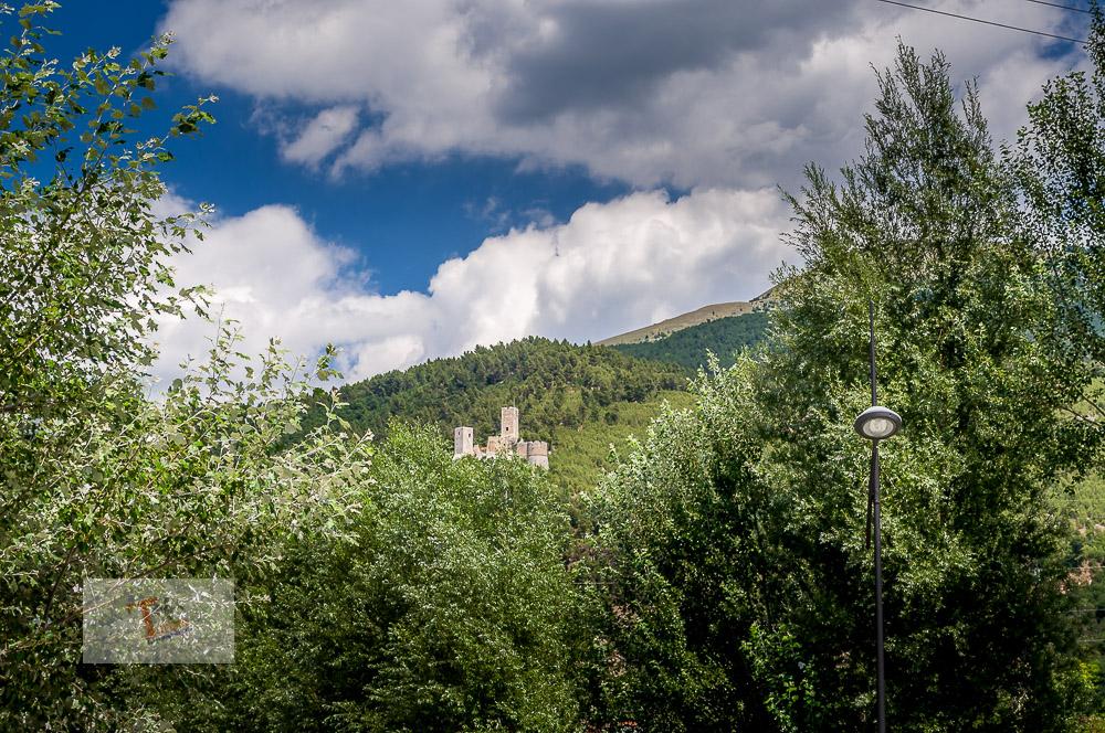 Popoli, castello - Turista a due passi da casa